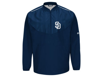 San Diego Padres Majestic MLB Men's AC Training Jacket