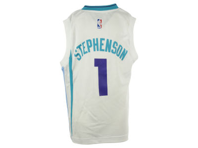 Charlotte Hornets Lance Stephenson NBA Youth Rev 30 Replica Jersey
