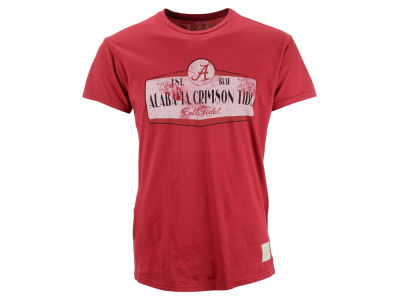 Alabama Crimson Tide Retro Brand NCAA Vintage Super Soft T-Shirt