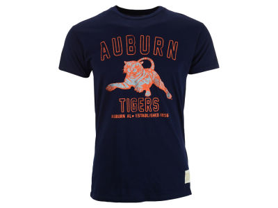 Auburn Tigers Retro Brand NCAA Vintage Super Soft T-Shirt