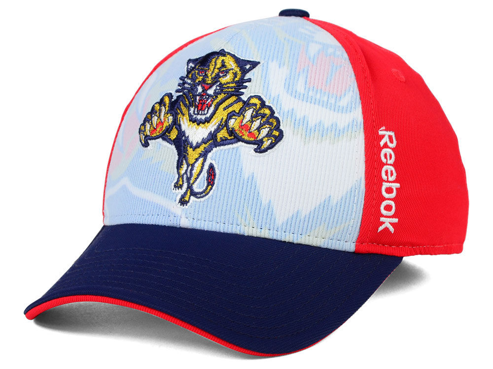 Florida Panthers Reebok NHL 2014-2015 2nd Season Draft Flex Cap ... 69eee6eafd0