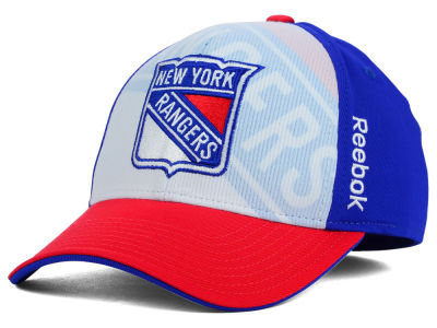New York Rangers Reebok NHL 2014-2015 2nd Season Draft Flex Cap