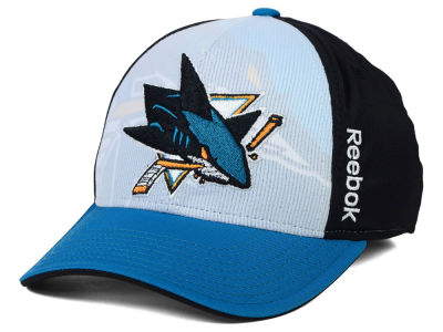San Jose Sharks Reebok NHL 2014-2015 2nd Season Draft Flex Cap