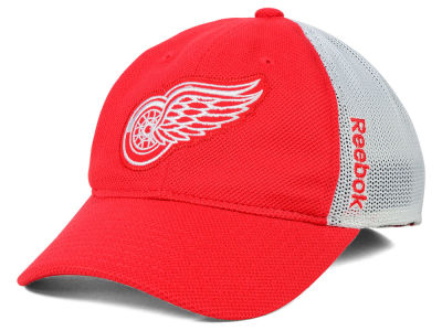 Detroit Red Wings Reebok NHL Iced Meshback Flex Cap