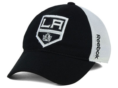 Los Angeles Kings Reebok NHL Iced Meshback Flex Cap