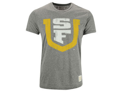 University of San Francisco Dons Retro Brand NCAA Triblend Streaky T-Shirt