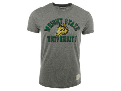 Wright State Raiders Retro Brand NCAA Triblend Streaky T-Shirt