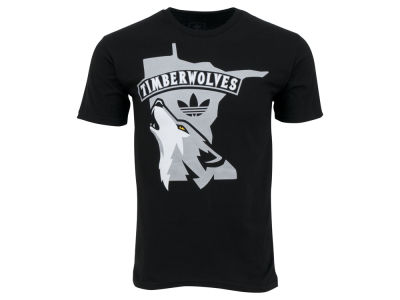 Minnesota Timberwolves adidas NBA Men's Wolf State T-Shirt
