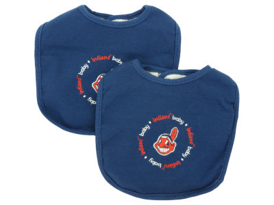 Cleveland Indians 2-pack Baby Bib