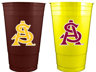 Arizona State Sun Devils 2-pack Home and Away Plastic Cups