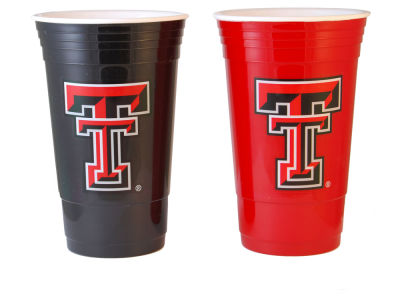 Texas Tech Red Raiders 2-pack Home and Away Plastic Cups