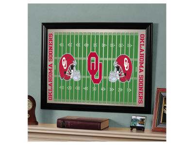 Oklahoma Sooners Football Field Mirror