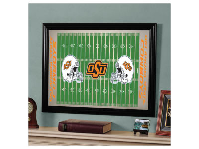 Oklahoma State Cowboys Football Field Mirror