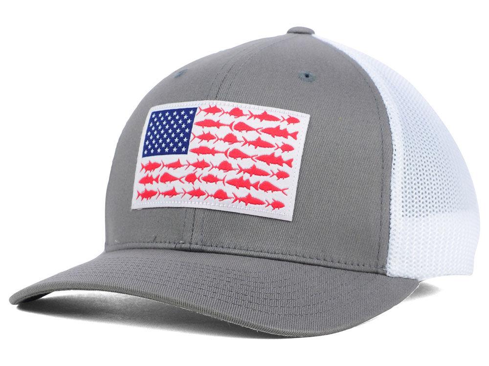 Columbia PFG Mesh Flag Hat  4b9e0dd31c6