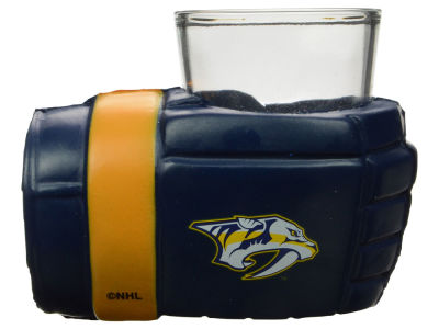 Nashville Predators Game on Glove Shot