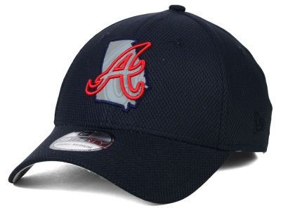 Atlanta Braves New Era MLB State Flective 39THIRTY Cap