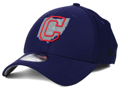 Cleveland Indians New Era MLB State Flective 39THIRTY Cap