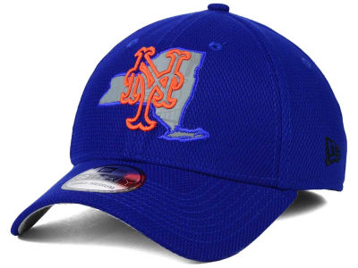 New York Mets New Era MLB State Flective 39THIRTY Cap