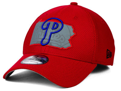 Philadelphia Phillies New Era MLB State Flective 39THIRTY Cap