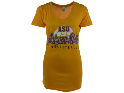 Arizona State Sun Devils NCAA Women's Big College Volleyball V-Neck T-Shirt