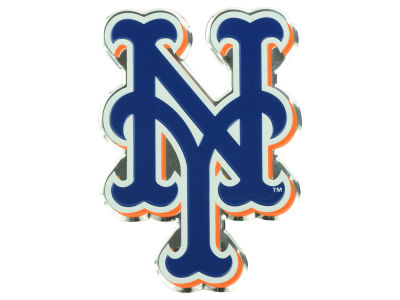 New York Mets Auto Emblem Full Color