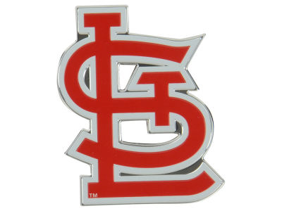 St. Louis Cardinals Auto Emblem Full Color