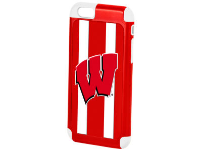 Wisconsin Badgers Iphone 6 Dual Hybrid Case