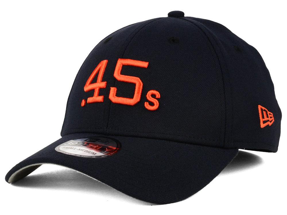 Houston Colt 45s New Era MLB Core Classic 39THIRTY Cap  9f3c0805ac70