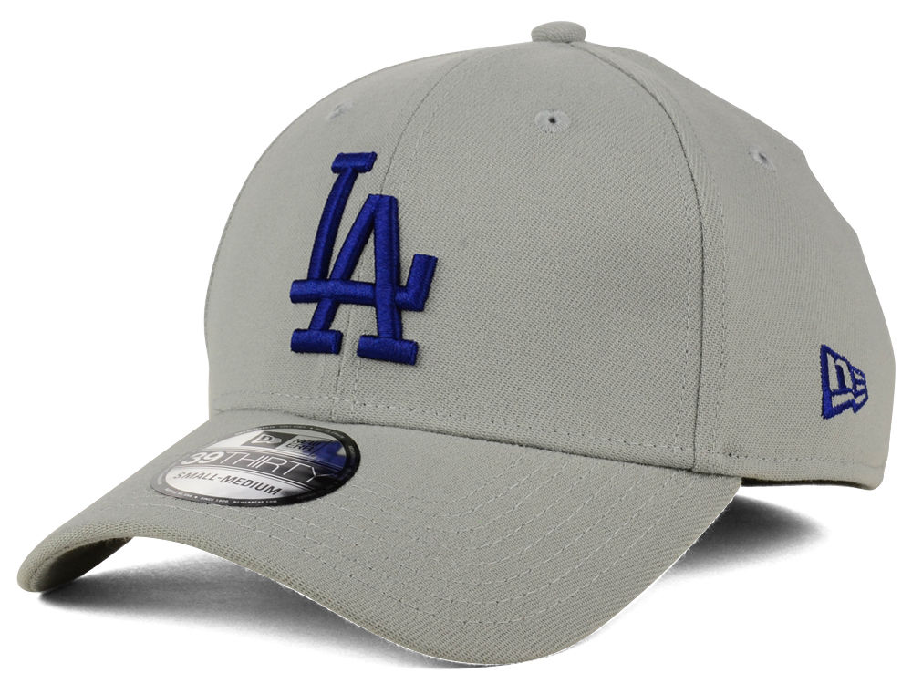 Los Angeles Dodgers New Era MLB Core Classic 39THIRTY Cap  a1953a34b4bf