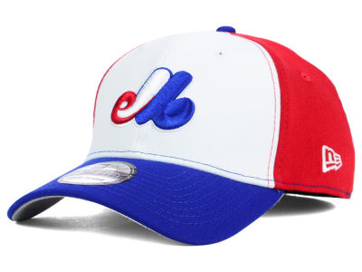 e18fe92be4c Montreal Expos New Era MLB Core Classic 39THIRTY Cap