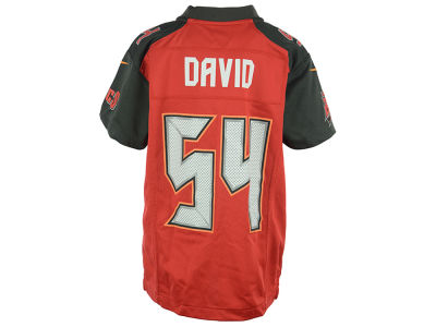 Tampa Bay Buccaneers Lavonte David NFL Youth Game Jersey