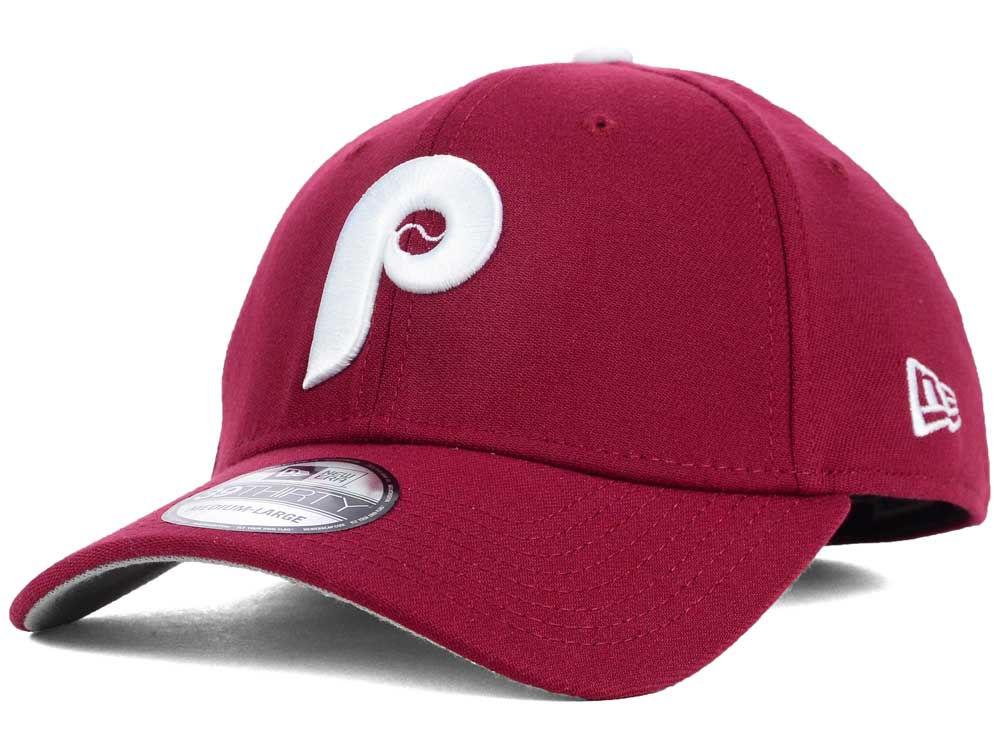da2d810a021 Philadelphia Phillies New Era MLB Core Classic 39THIRTY Cap