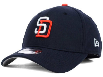 San Diego Padres New Era MLB Core Classic 39THIRTY Cap