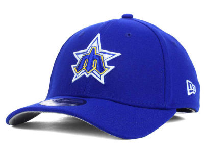 Seattle Mariners New Era MLB Core Classic 39THIRTY Cap