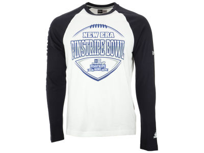 New Era NCAA Pinstripe Bowl Long Sleeve Raglan T-Shirt