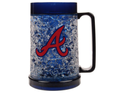 Atlanta Braves 16oz Freezer Mug Color Insert