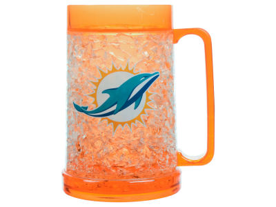 Miami Dolphins 16oz Freezer Mug Color Insert
