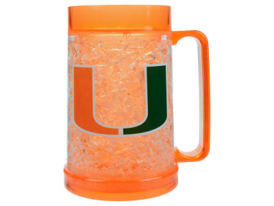 Miami Hurricanes 16oz Freezer Mug Color Insert