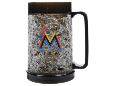 Miami Marlins 16oz Freezer Mug Color Insert