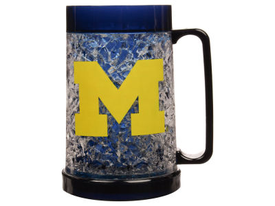 Michigan Wolverines 16oz Freezer Mug Color Insert