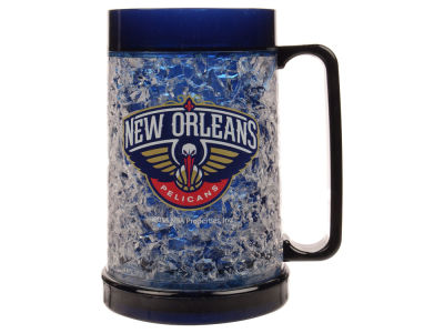 New Orleans Pelicans 16oz Freezer Mug Color Insert