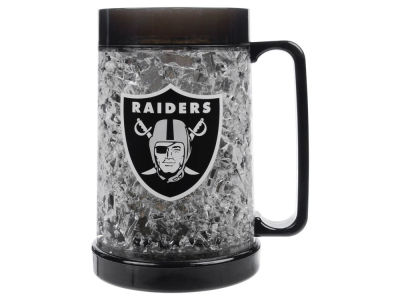 Oakland Raiders 16oz Freezer Mug Color Insert