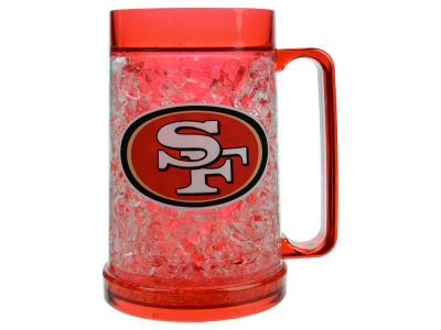 San Francisco 49ers 16oz Freezer Mug Color Insert