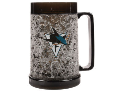 San Jose Sharks 16oz Freezer Mug Color Insert
