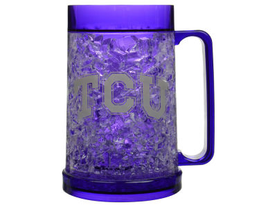 Texas Christian Horned Frogs 16oz Freezer Mug Color Insert