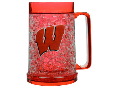 Wisconsin Badgers 16oz Freezer Mug Color Insert