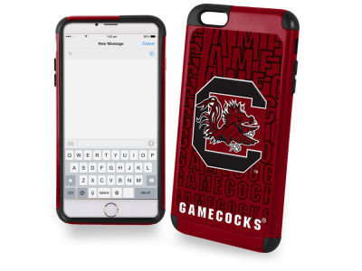 South Carolina Gamecocks iphone 6 Plus Dual Hybrid Case
