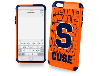 Syracuse Orange iphone 6 Plus Dual Hybrid Case
