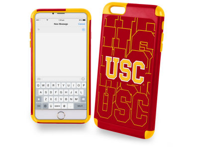 USC Trojans iphone 6 Plus Dual Hybrid Case