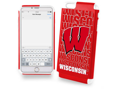 Wisconsin Badgers iphone 6 Plus Dual Hybrid Case